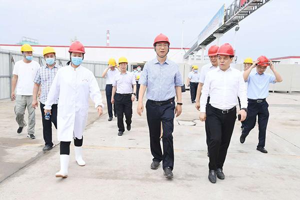漯河市长刘尚进主持召开市政府第83次重点项目建设周例会